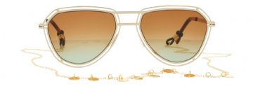 Ching Ching Gold cord // Odette Lunettes